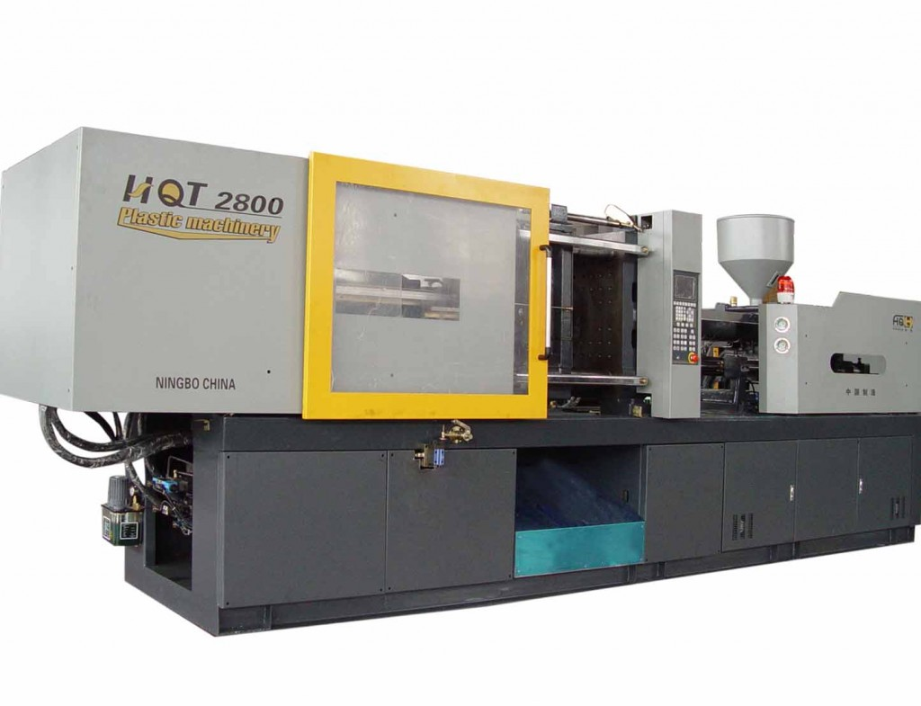 Modern-Day Injection Moulding Machine