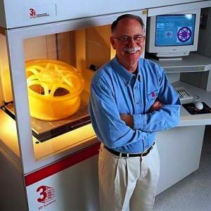 Charles Hull SLA inventor