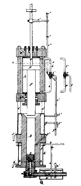 Hyatt Injection Moulding Machine Patent